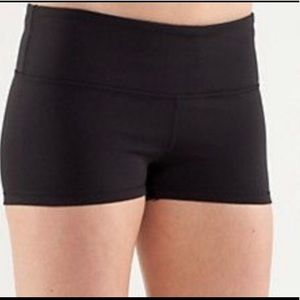Lululemon Black Boogie Shorts